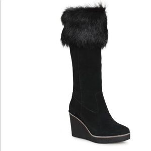 NWT UGG Valberg Black Boots Size 10